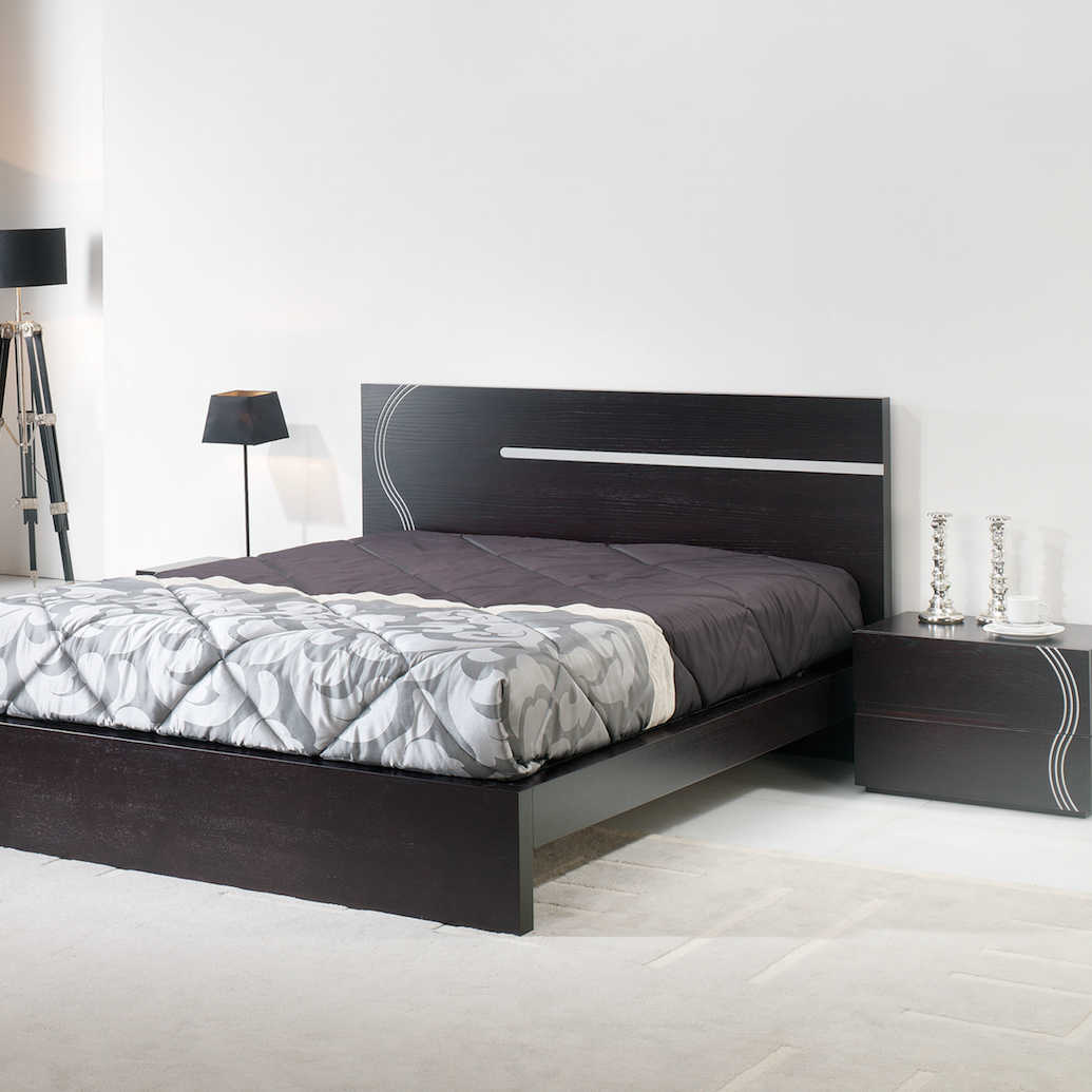 Muebles para tu hogar muebles caloto for Mesitas de noche negras